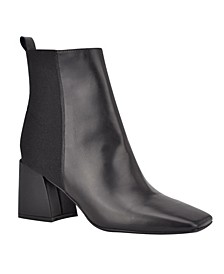 Women's Griffin Block Heel Booties