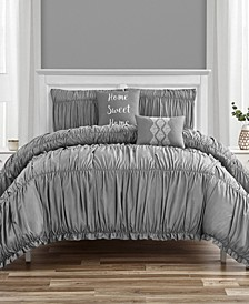 Melissa Queen Comforter Set, 5 Piece