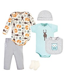 Boys and Girls Cotton Layette Set