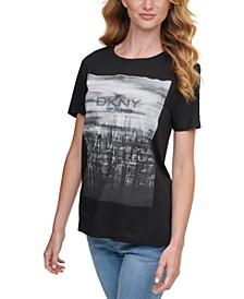 Cityscape Logo Graphic T-Shirt