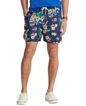 Polo Ralph Lauren Swimtrunks MEN'S BIG & TALL TRAVELER POLO BEAR SWIM TRUNKS