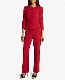 Peplum Jacket Pants Suit