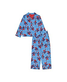 Spiderman Big and Little Boys 2 Piece Set