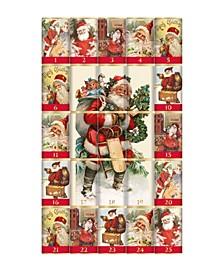 Mini Milk Chocolate Bar Christmas Advent Calendar