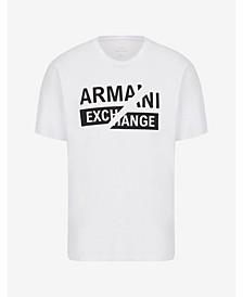 A|X Armani Split Logo T-Shirt