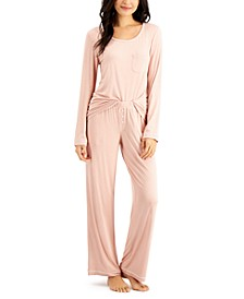 Knit Pajama Set, Created for Macy's