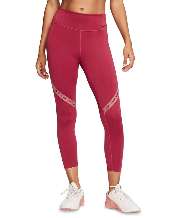 Nike Women's One Logo Cropped Leggings