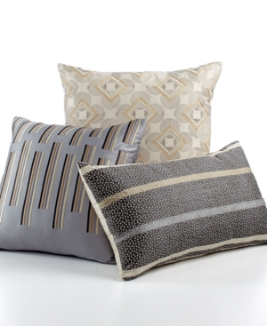 Hotel Collection Modern Colonnade 20 Square Decorative Pillow Bedding