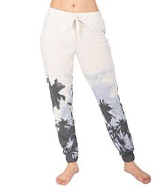 Palm Tree Jogger Loungewear Pants