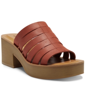 Lucky Brand WOMEN'S PAYDIN PLATFORM SANDALS WOMEN'S SHOES