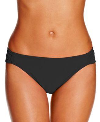 Juniors Malibu Side-Tab Hipster Bikini Bottoms, Created for Macy's