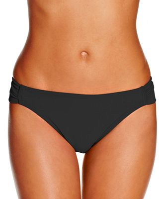 Hula Honey Malibu Side-Tab Hipster Bikini Bottoms