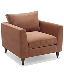 "Eliqueen 37"" Fabric Chair, Created for Macy's"