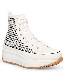 Winnona Rhinestone Flatform High-Top Sneakers
