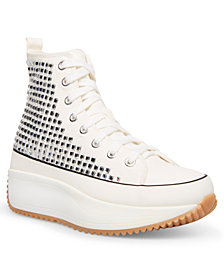 Madden Girl Winnona Rhinestone Flatform High-Top Sneakers