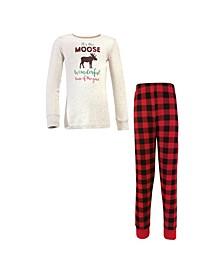 Big Boys and Girls Family Holiday Pajamas