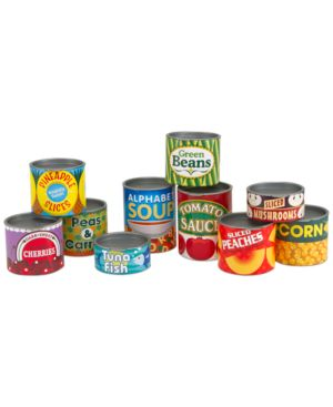Melissa and Doug Kids Toy, Let's Play House Grocery Cans