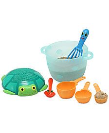 Melissa and Doug Kids Toys, Seaside Sidekicks Sand Baking Set