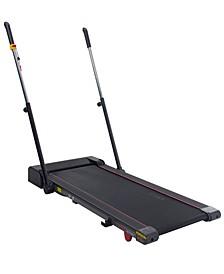 Slim Folding Treadmill Trek Pad with Arm Exercisers