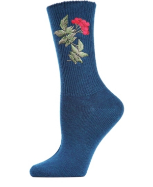 Berry Vintage-like Women's Crew Socks