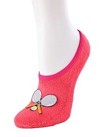 Tennis Terry Women's Slipper Socks