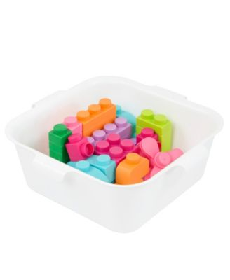 42 Piece in 11 Different Sizes Soft Building Blocks