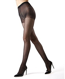 Women's Sparkle Specks Fancy Elegant Sheer Tights