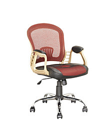 CorLiving Workspace Office Chair with Leatherette and Mesh