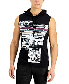 INC Men's Prank Hooded Tank Top, Created for Macy's