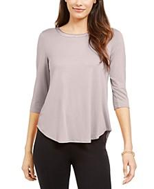 3/4-Sleeve Top, Created for Macy's