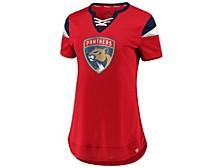 Florida Panthers Women's Athena Lace Up Shirt