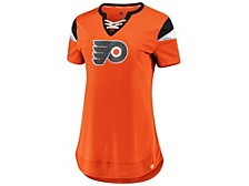 Philadelphia Flyers Women's Athena Lace Up Shirt