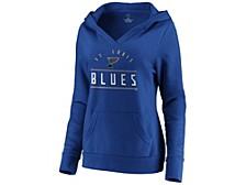 St. Louis Blues Women's Leader V-Neck Fleece Sweatshirt