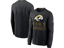 Los Angeles Rams Men's 2020 Salute to Service Long Sleeve T-Shirt