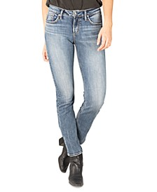 Avery Curvy-Fit Straight-Leg Jeans