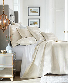 Hotel Collection Hydrangea Velvet Full/Queen Coverlet, Created for Macy's