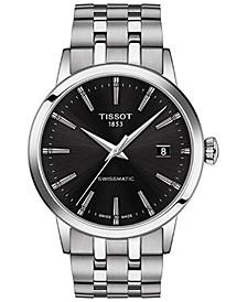 Men's Swiss Automatic Classic Dream Stainless Steel Bracelet Watch 42mm