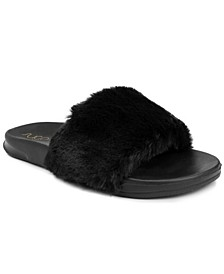 Women's Wuzz Fuzzy Slide Sandals