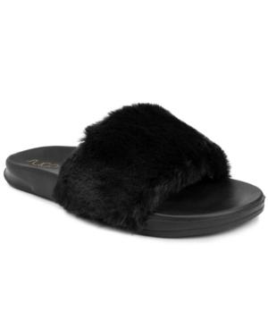 Sugar Women s Wuzz Fuzzy Slide Sandals Women s Shoes E540