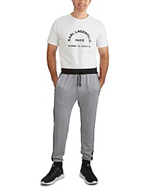 Men's Soft Feel Color Block Track Pant