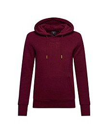Women's Vintage Logo Tonal Embroidered Hoodie