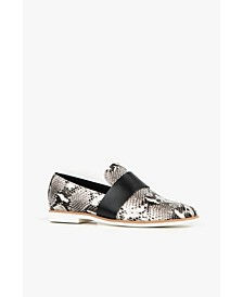Banded Exotic Women's Loafer Flat