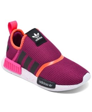 Adidas Originals ADIDAS ORIGINALS LITTLE GIRLS NMD 360 SLIP-ON CASUAL SNEAKERS FROM FINISH LINE