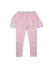 Toddler Girls Tutu Graphic Legging