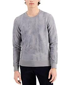 Men's Metallic Reptile-Print Sweatshirt