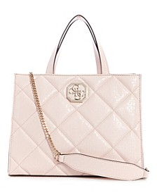 Dilla Quilted Logo Elite Society Satchel