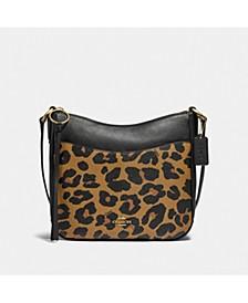 Leopard Print Chaise Crossbody