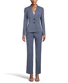 Two-Button Pantsuit