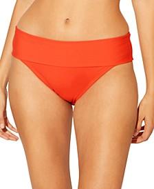 Foldover Hipster Bikini Bottoms