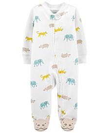 Baby Boys and Girls Koala 2-Way Zip Cotton Sleep and Play One Piece